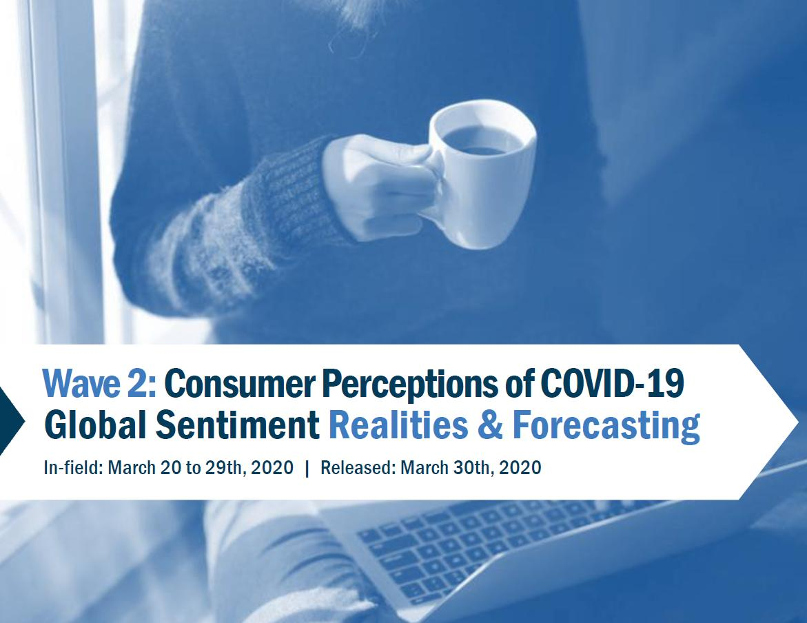 COVID-19 Wave 2: Consumer Perceptions of COVID-19 Global Sentiment